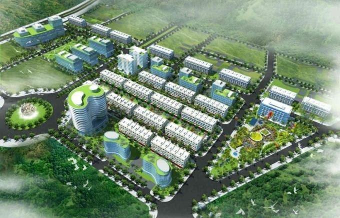 Dự án khu dân cư phường Tóc Tiên