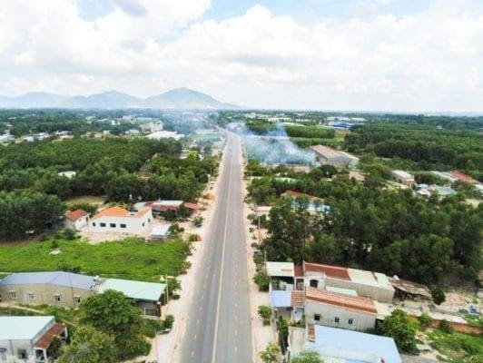 Phát triển bất động sản phường Tóc Tiên