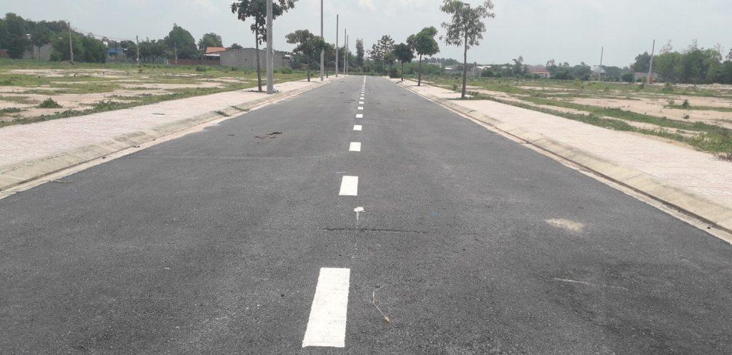 Khu vực đường lớn tại xã Tóc Tiên với nhiều vị trí đất tốt