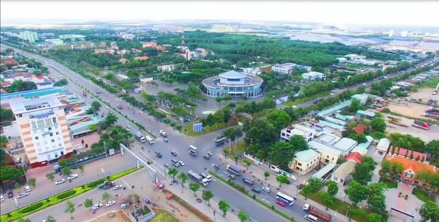 Tương lai thị xã Phú Mỹ sẽ là thành phố cảng